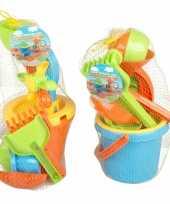 Vergelijk strand speelgoed setje 8 delig prijs