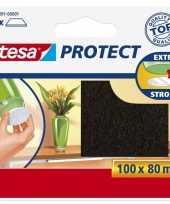 Vergelijk tesa viltglijder meubelbeschermer bruin zelfklevend 8 x 10 cm prijs