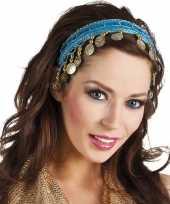 Vergelijk turquoise blauwe verkleed feest buikdanseressen hoofdband diadeem voor dames volwassenen p
