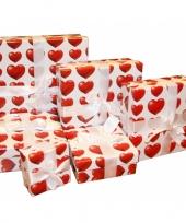 Vergelijk valentijns kadoverpakking 12 cm prijs