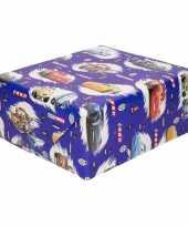 Vergelijk verjaardag disney kadopapier cars blauw 200 x 70 cm prijs