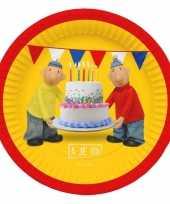 Vergelijk verjaardags borden buurman en buurman 23 cm prijs