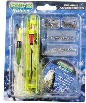 Vergelijk vissers accesoires set prijs