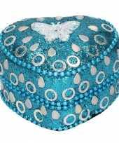 Vergelijk vlinder tandendoosje blauw 6 cm prijs