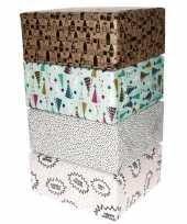 Vergelijk voordeelpakket 4x cadeaupapier met diverse prints prijs