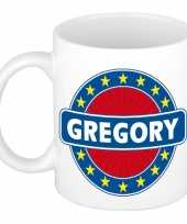 Vergelijk voornaam gregory koffie thee mok of beker prijs