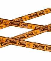 Vergelijk waarschuwing afzetlint 6 meter oranje prijs