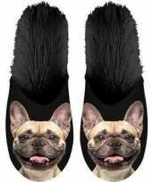 Vergelijk warme dieren slofjes pantoffeltjes franse bulldogs honden voor jongens meisjes kinderen pr