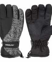 Vergelijk wintersport starling mirre handschoenen voor kinderen zwart wit prijs