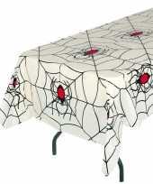 Vergelijk wit heksen spinnenweb thema tafellaken 135 x 270 cm prijs