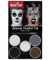 Vergelijk zebra dieren schminken schminkset prijs