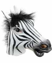 Vergelijk zebra maskers voor volwassenen prijs